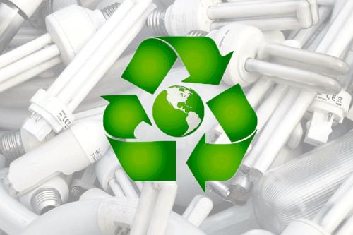 Утилизация энергосберегающей лампы
