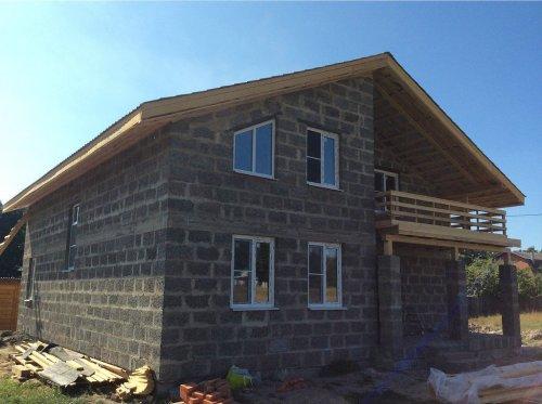 Преимущества использования арболита для строительства домов